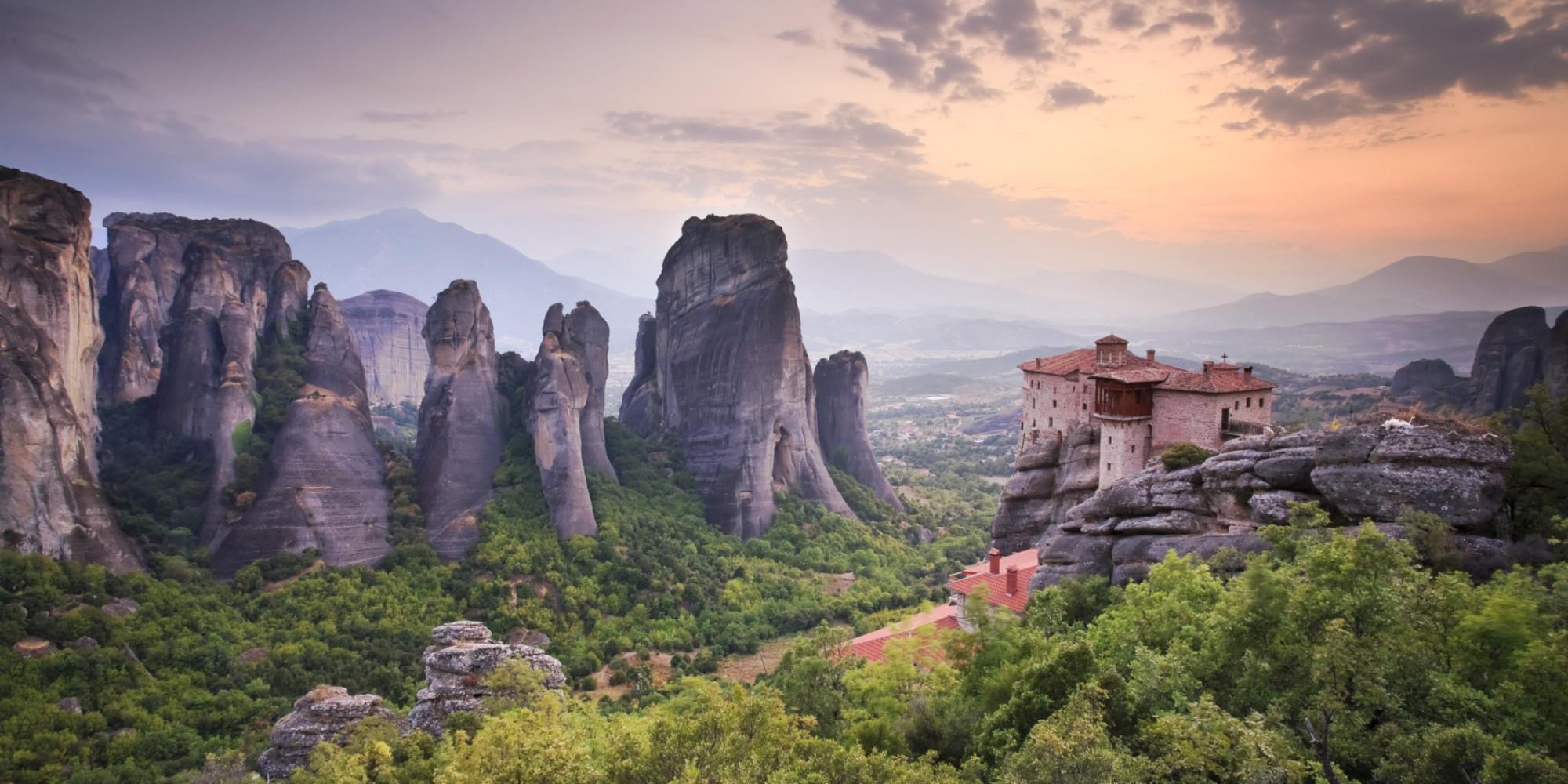 Meteora & monasteries